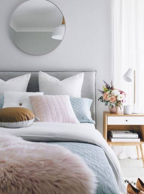 dormitorio nórdico para el blog de wabisabi