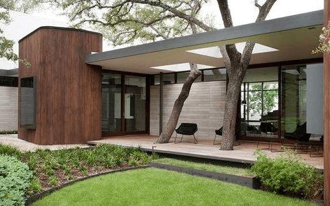 lujosa vivienda al estilo mid century modern
